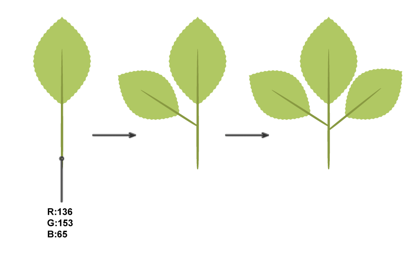 how to create more leaves