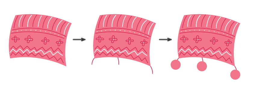 how to decorate the blanket