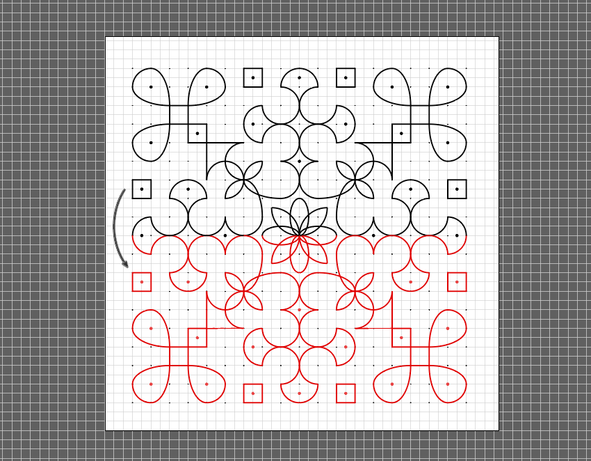 How to Create a Traditional Indian Kolam Pattern in Adobe Illustrator