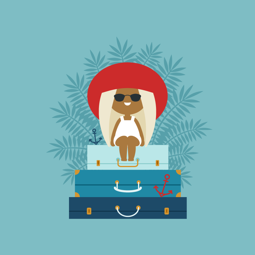 How to Create a Summer Vacation Illustration in Adobe ...