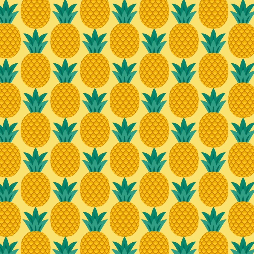 How to Create a Pineapple Seamless Pattern in Adobe Illustrator Interesting Pattern