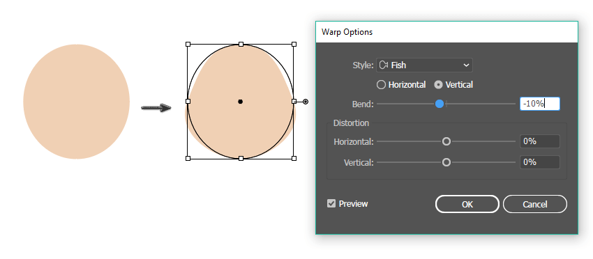 how to create the head shape