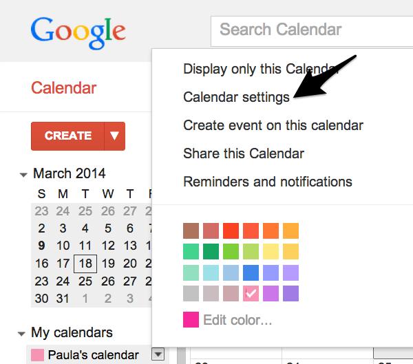 Google Calendar: Techniques To Share Apple And Google Calendars