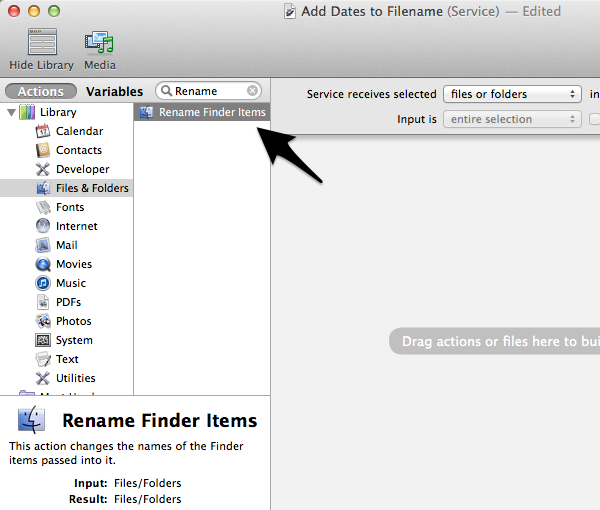 Introduction to Automator Services