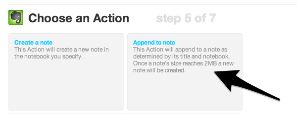 Append your completed tasks to a note