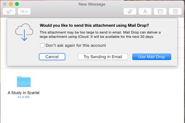 Using Markup and Mail Drop in the New Apple Mail