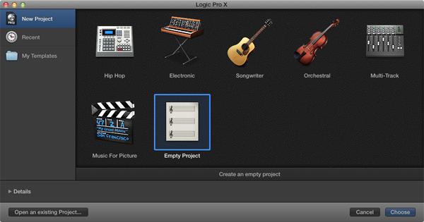 Quick Tip: Moving From GarageBand to Logic Pro X