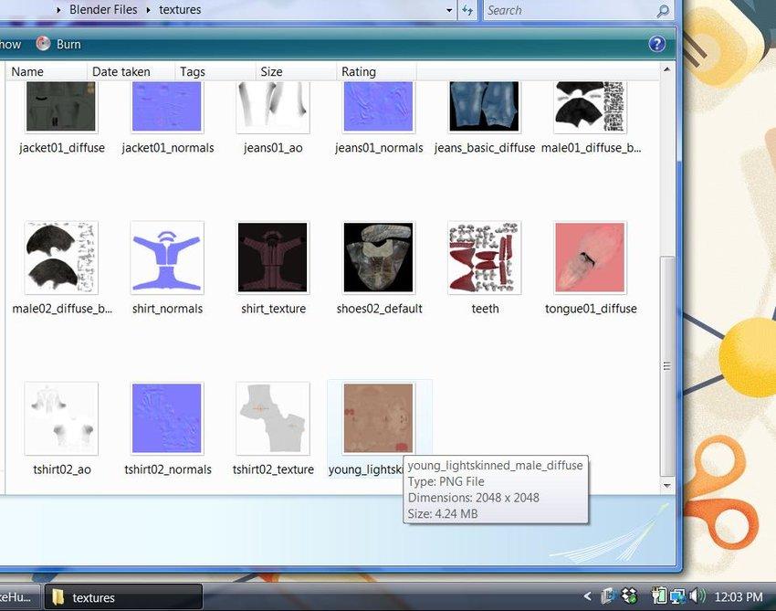 Textures Folder