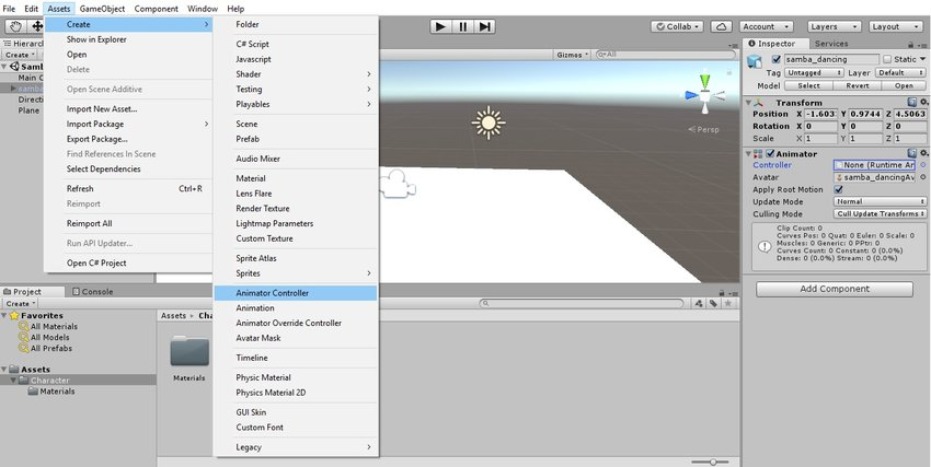 Importing an Animated Character Into Unity 3D