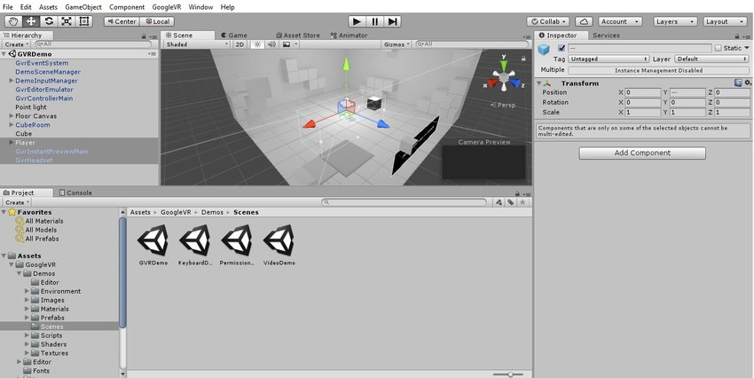 Creating a VR Game in Unity