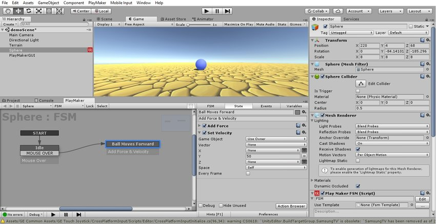 Creating a Unity Game With PlayMaker