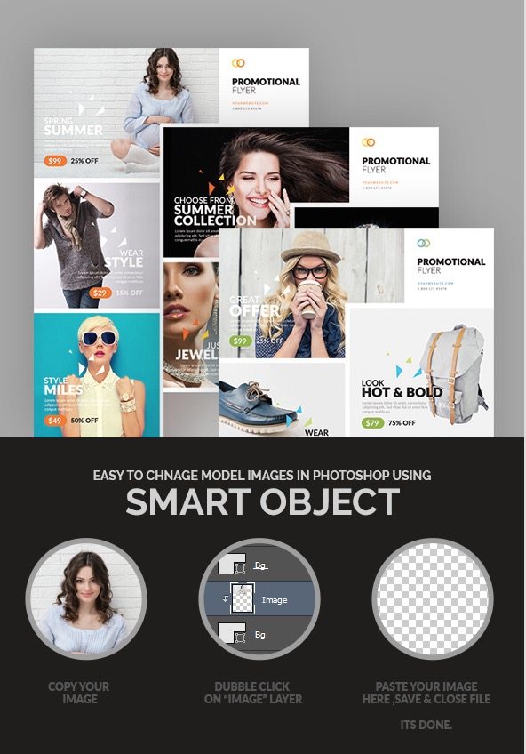 Promotional Business Flyer Template Design