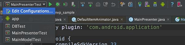 Add a Configuration