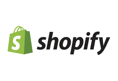 Shopify logo cc attribution share alike 3.0 from wikipedia