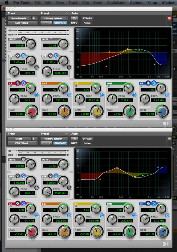 How to Creatively Use Multiple Reverbs in One Mix