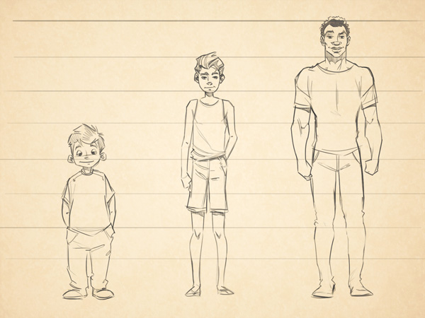 cartoon fundamentals how to draw children - Cartoon Drawings Of Children