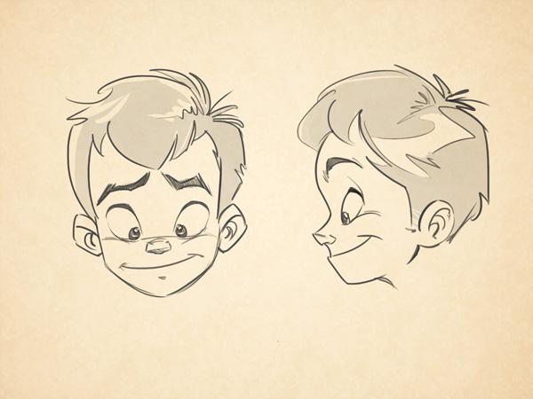 Cartoon Fundamentals: How to Draw Children