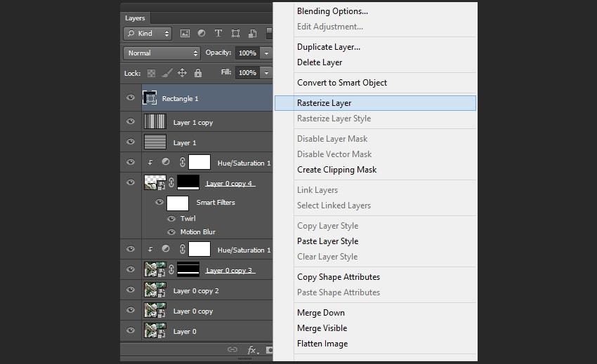 在Adobe Photoshop中创建VHS小故障艺术图片