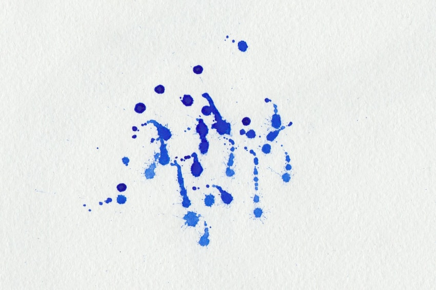 how to create watercolour brush text in design