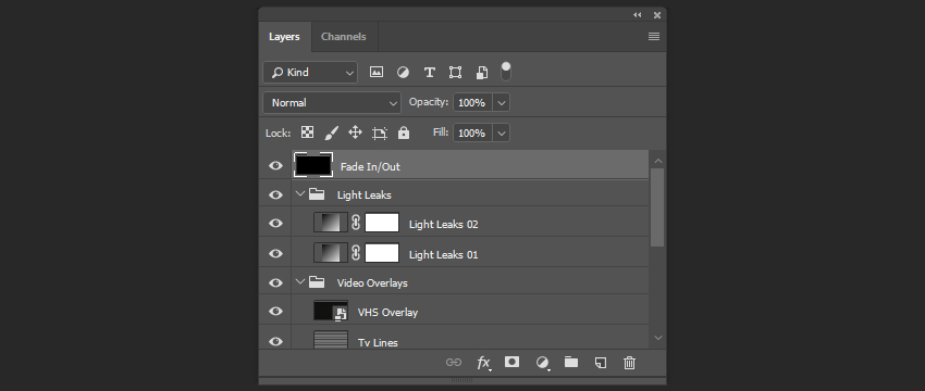 Creating a fade inout effect