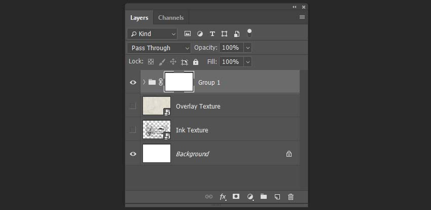 Creating first group of layers