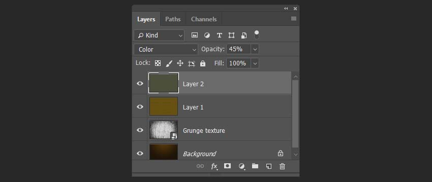 creating a new color layer
