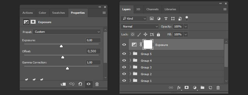 creating the exposure layer