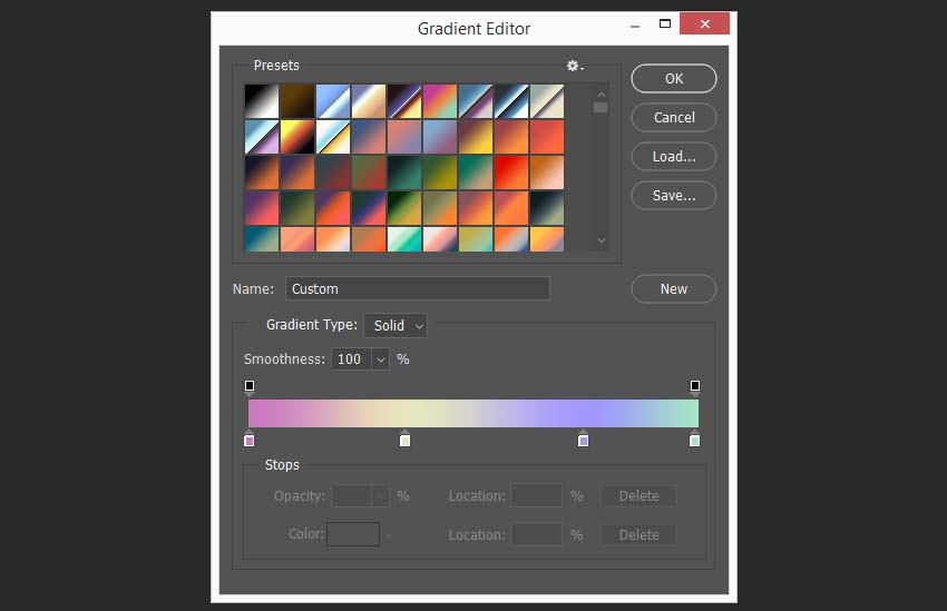 creating the first gradient map