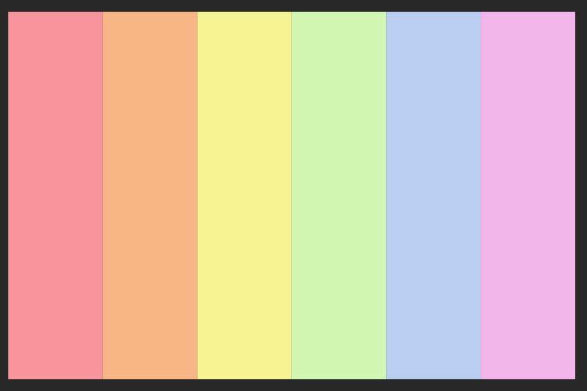 hx color codes palette preview