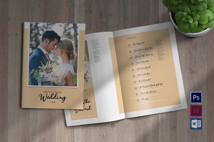 How To Create Photo Album Templates From Scratch In Photoshop