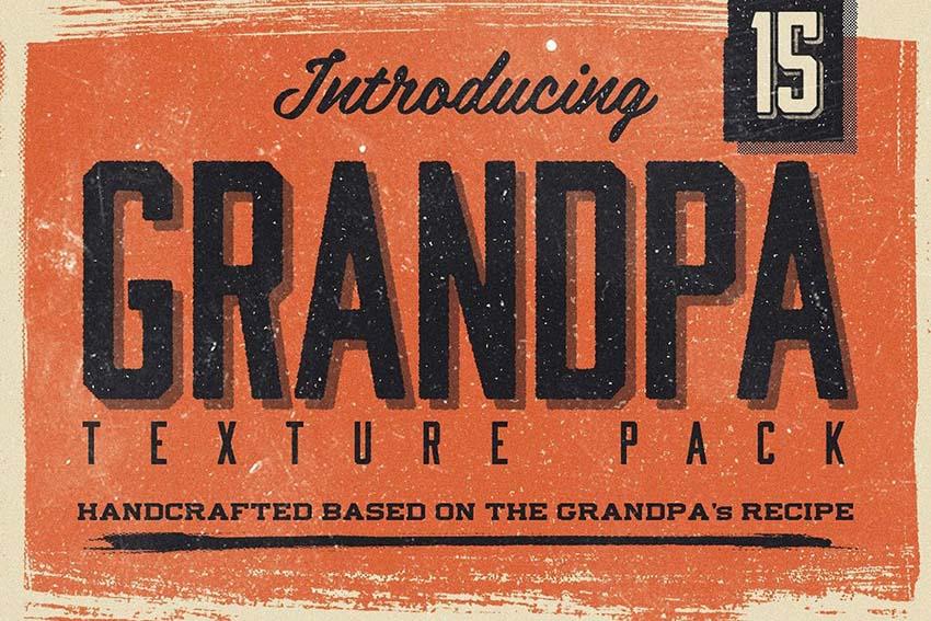 grandpa's vintage texture pack