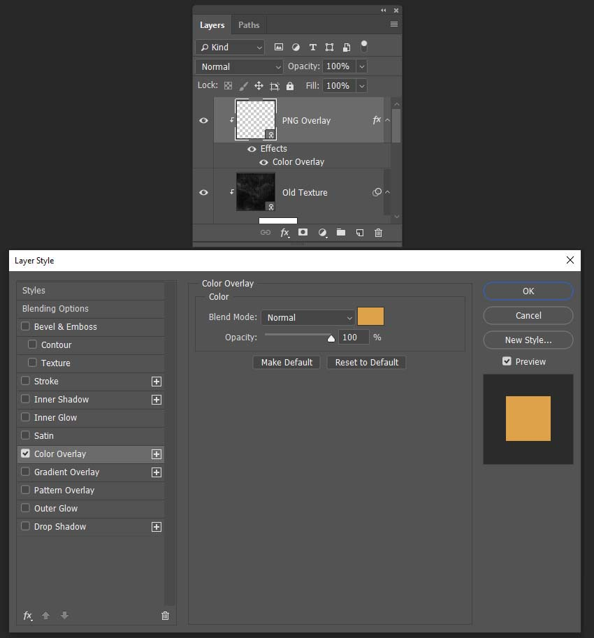 adding color overlay to a png texture