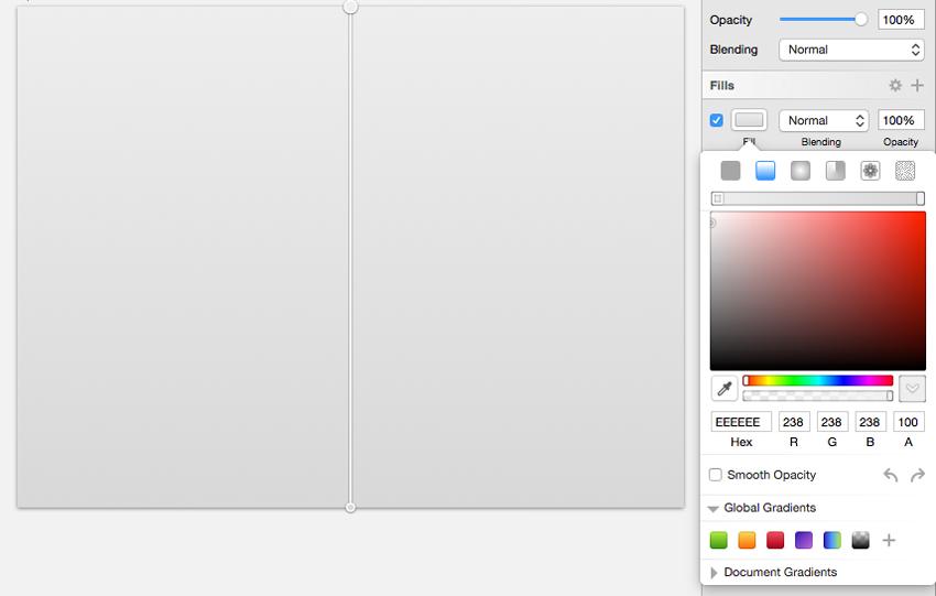 Bakcground color - switch to gradient