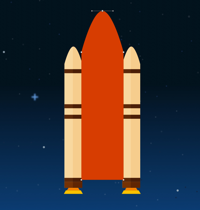 External tank - add mirrored point