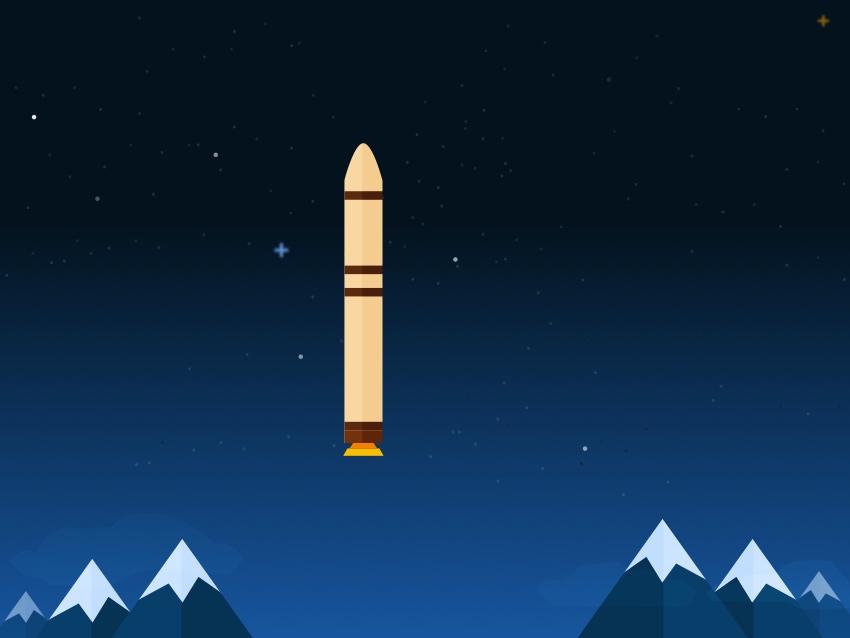 Rocket booster finished