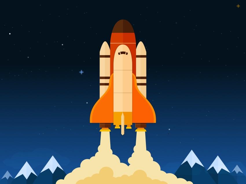 Space shuttle scene final