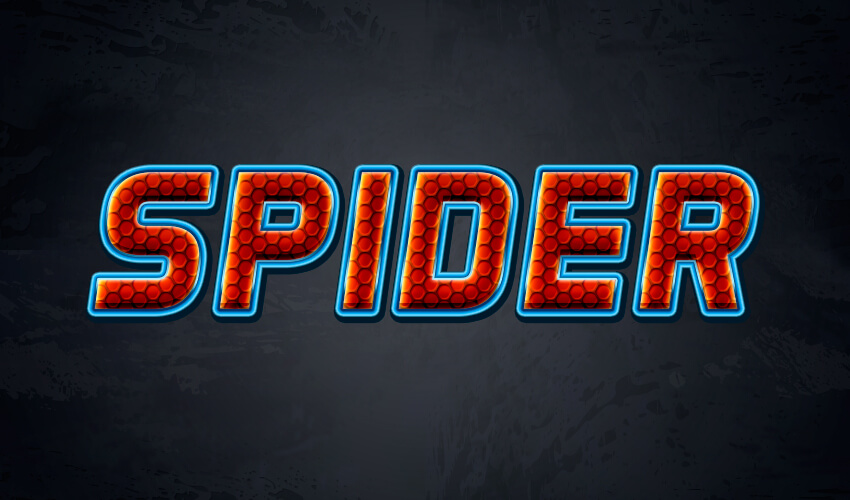 How to Create a Spiderman Inspired Text Effect in Adobe Photoshop