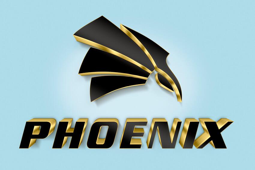Phoenix logo example