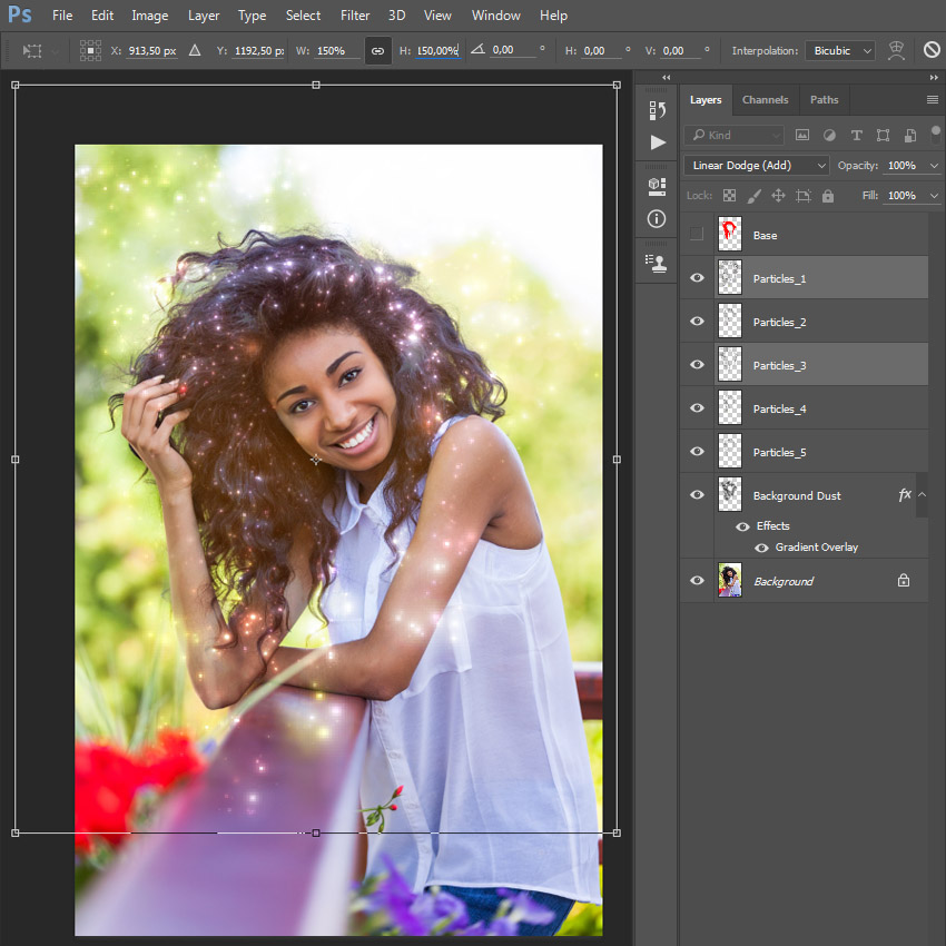 How to Create a Sparkling Action in Adobe Photoshop