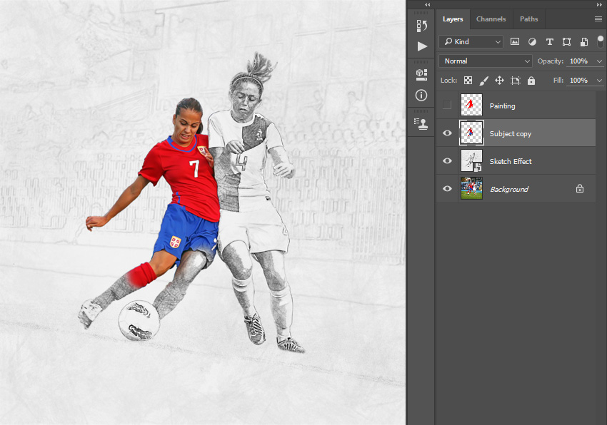 How to Create a Dripping Paint Photoshop Effect Action