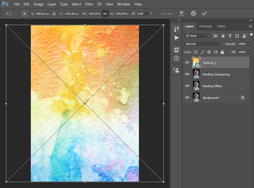 How to Convert Photos Into Paintings Fast With Photoshop Actions