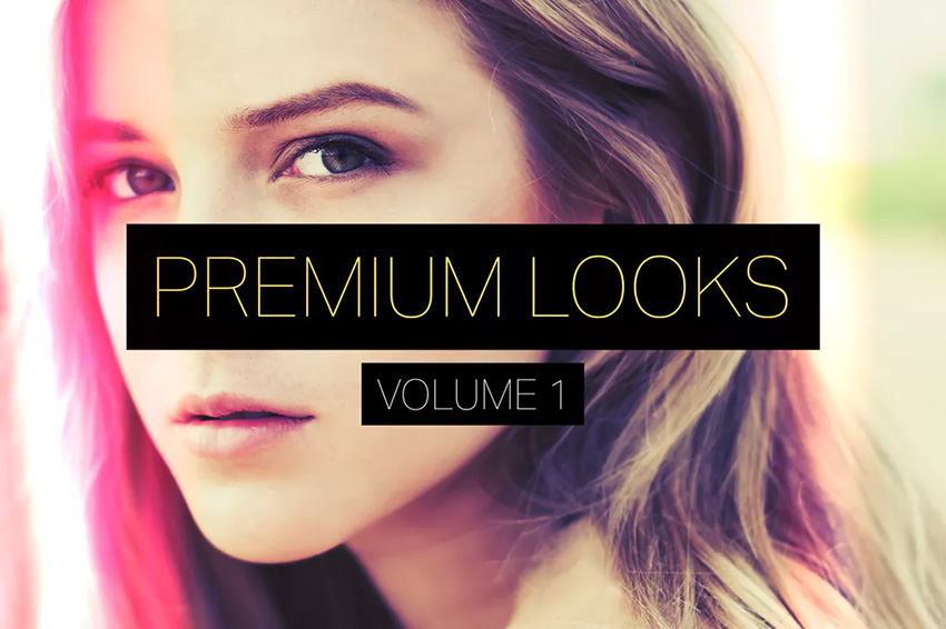 Premium Looks Photoshop Actions Vol 1