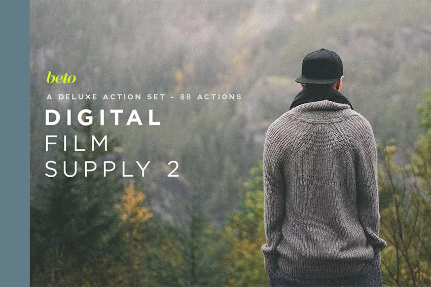 Digital Film Supply 2 Action Bundle