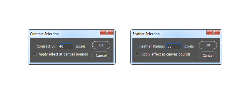 modifying selection