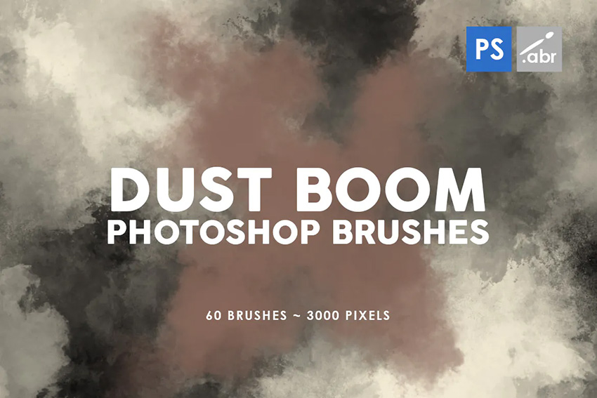60 dust boom photoshop brushes
