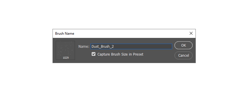 defining new brush