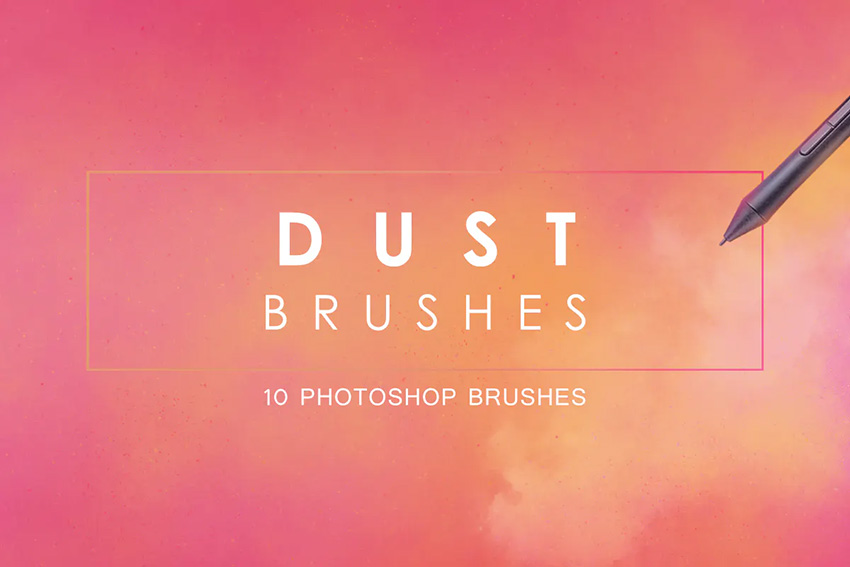 dust photoshop brushes