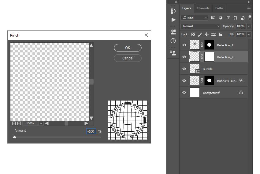 adding pinch filter