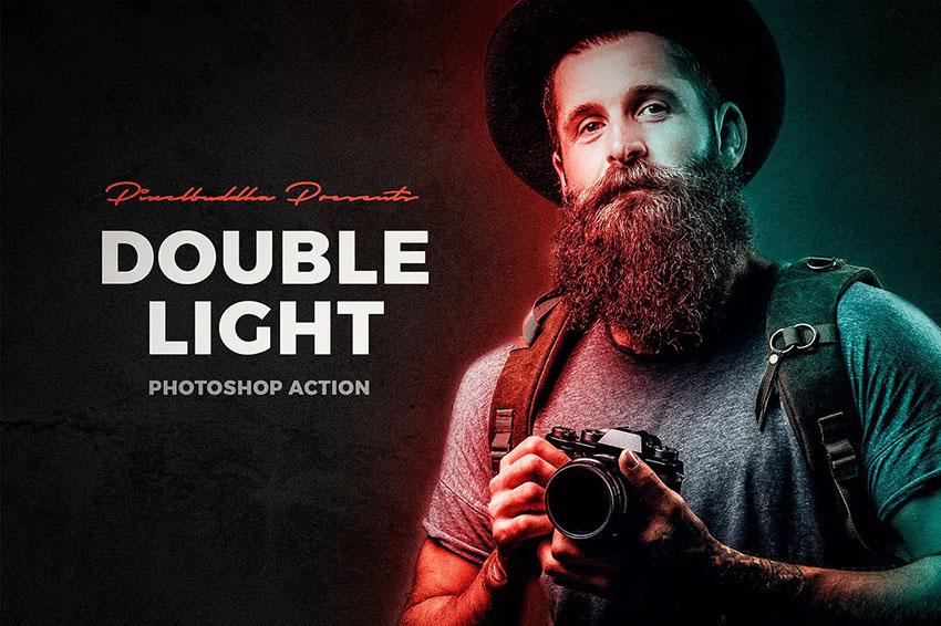 double light photoshop action