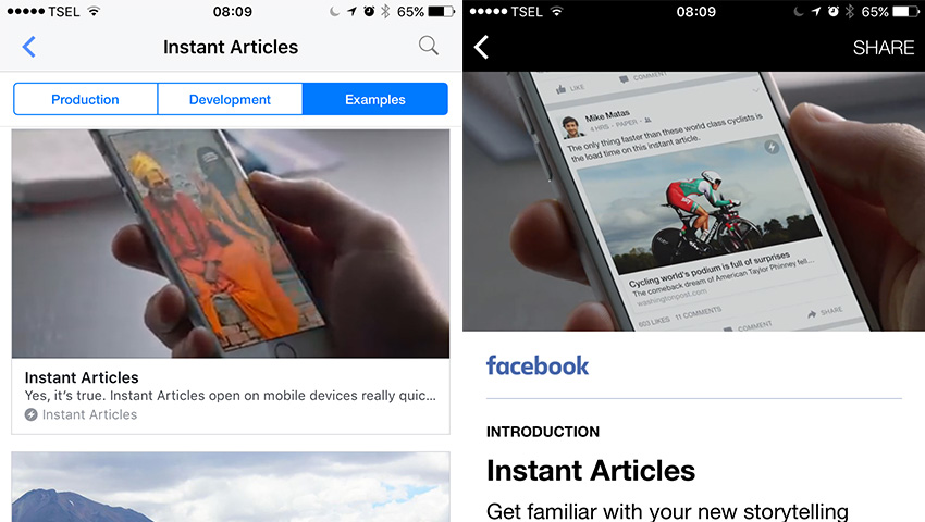 How to Publish Content With Facebook Instant Articles
